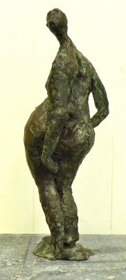 brons,hoogte 30 cm.